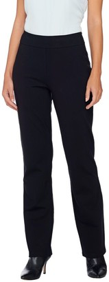 Linea By Louis Dell'olio by Louis Dell'Olio Regular Pull-On Super Ponte Knit Pants
