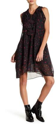 IRO Floral Self-Tie Front Dress