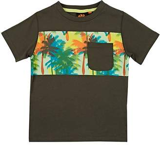 Sundek Kids' Palm-Tree-Print Cotton T-Shirt