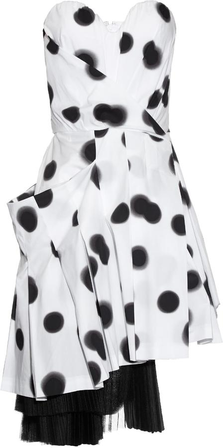 Marc By Marc JacobsMARC BY MARC JACOBS Blurred-dots print strapless dress