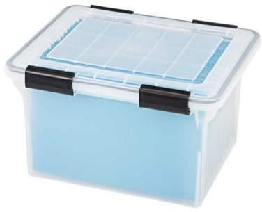IRIS® Weathertight File Box (Set of 4)