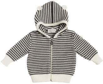 Moncler Wool Knit Hoodie