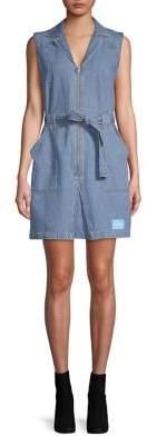Calvin Klein Jeans Irwin 70's Denim Shift Dress