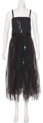 Brunello Cucinelli Monili Tulle Gown w/ Tags