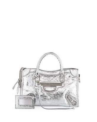 Balenciaga Classic Metallic Edge City Small AJ Bag