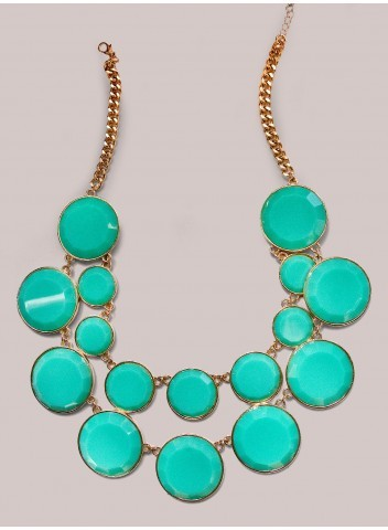 IGIGI Stassi Necklace in Mint