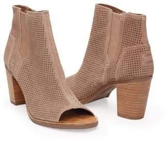 Toms Women's Majorca Peep Toe Mid Calf Boot