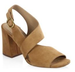 Michael Kors Collection Asher Suede Sandals