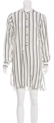 Isabel Marant Striped Knee-Length Dress