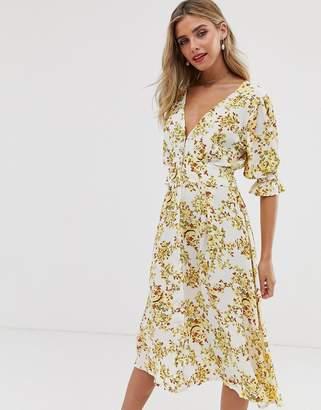 Faithfull The Brand Faithfull rafa floral midi dress