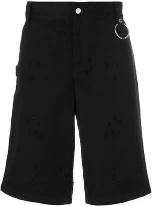 Givenchy Destroyed effect shorts