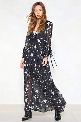 Nasty Gal Whats Your Star Sign Maxi Dress