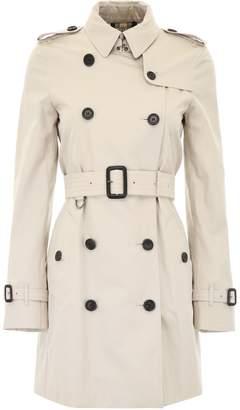 Burberry Short Kensington Trench Coat