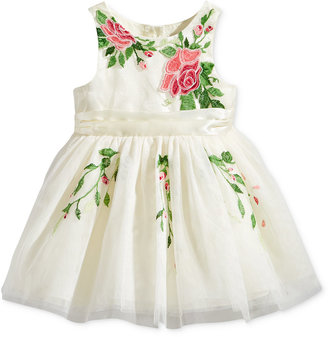 Nanette Lepore Floral Embroidered Tulle Dress, Baby Girls (0-24 months) $70 thestylecure.com