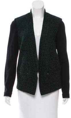 Tibi Open Front Knit Jacket