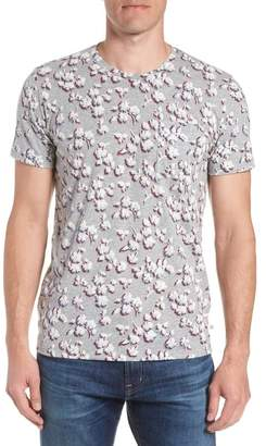 Bonobos Slim Fit Floral Pocket T-Shirt