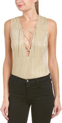 Anine Bing Shimmer Bodysuit