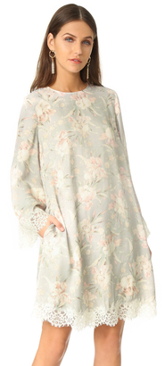 Zimmermann Stranded Lace Swing Dress $530 thestylecure.com