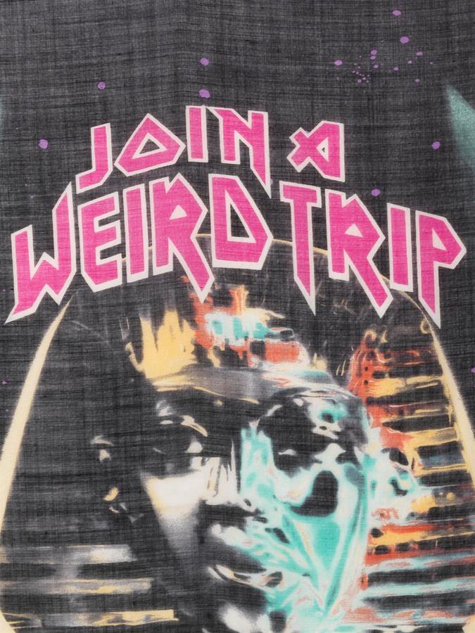 Balenciaga Weird trip-print scarf