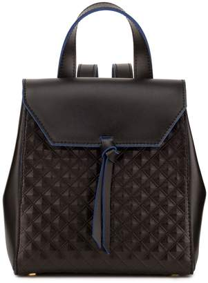 Alexandra de Curtis Hepburn Mini Backpack Black Scudo