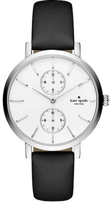 Black monterey multi-function watch $195 thestylecure.com