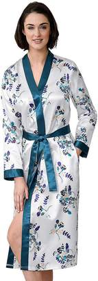 Creation L Silky Floral Dressing Gown