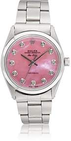 Rolex Vintage Watch Women's 1966 Oyster Perpetual Air-King Watch-Pink
