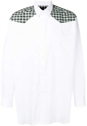 Fred Perry plaid shoulder shirt