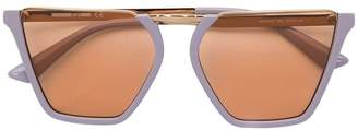 McQ Eyewear half frame square sunglasses