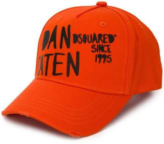 DSQUARED2 Caten twins embroidered cap