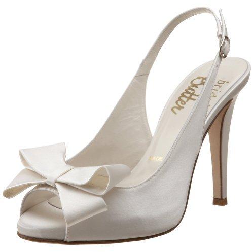 Butter Shoes Bridal by Women's Camelia-B Peep-Toe Pump