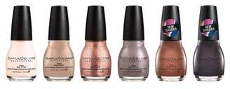 Sinful Colors SinfulColors Nude Nail Polish Collection - 6pk
