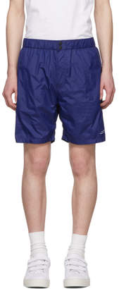 Saturdays NYC Blue All-Purpose Trent Shorts