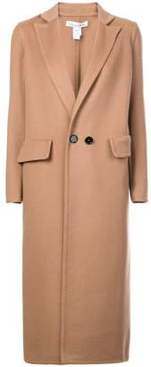 Oscar de la Renta brushed coat