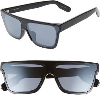8f30c29bdb80 Kenzo 67mm Special Fit Oversize Flat Top Sunglasses
