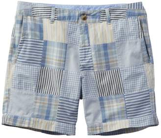 "L.L. Bean L.L.Bean Washed Chino Shorts, 6"" Patchwork"