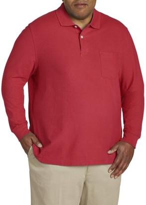 Canyon Ridge Men's Long Sleeve Pocket Pique Polo