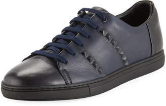 Zanzara Men's Strozzi Leather Sneakers