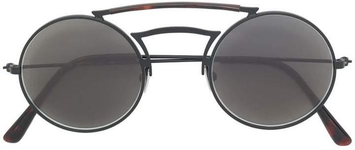 L.G.R round double nose bridge sunglasses