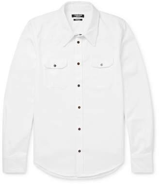 Calvin Klein Cotton-Twill Shirt - Men - White