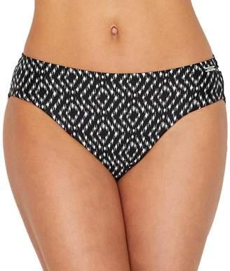 Fantasie Byron Bay Mid-Rise Bikini Bottom, L, Black
