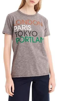 J.Crew J. Crew London, Paris, Tokyo, Portland Tee
