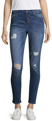 Tinseltown Womens High Waisted Jeggings - Juniors