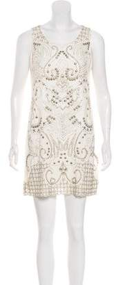 Alice + Olivia Embellished Tent Dress