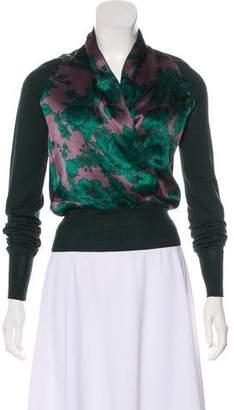 Etro Floral Print Lightweight Sweater