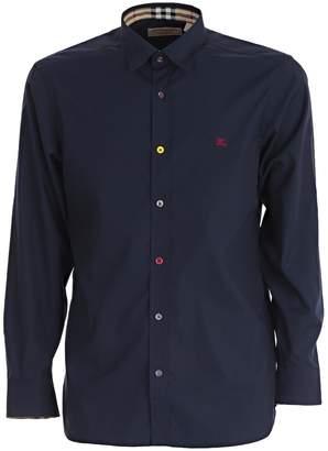 Burberry Button Stretch Shirt