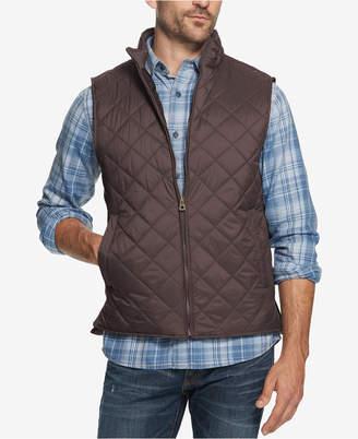 Weatherproof Vintage Men Quilted Full-Zip Vest