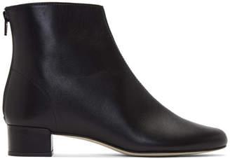 Repetto Black Goatskin Jolaine Boots