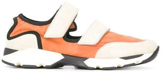 Marni colour block low-top sneakers