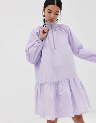 Asos drop waist smock dress